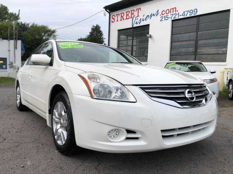 2012 Nissan Altima for sale at Street Visions in Telford PA