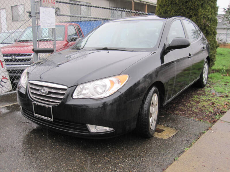 2008 Hyundai Elantra for sale at All About Cars in Marysville WA