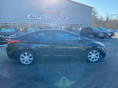 2012 Hyundai Elantra for sale at North Berwick Auto Center in Berwick ME