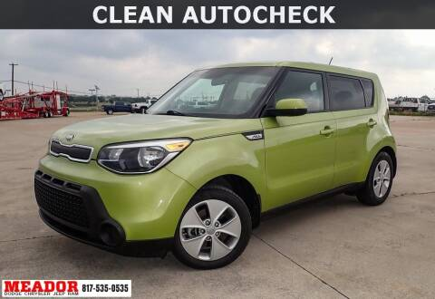 2016 Kia Soul for sale at Meador Dodge Chrysler Jeep RAM in Fort Worth TX