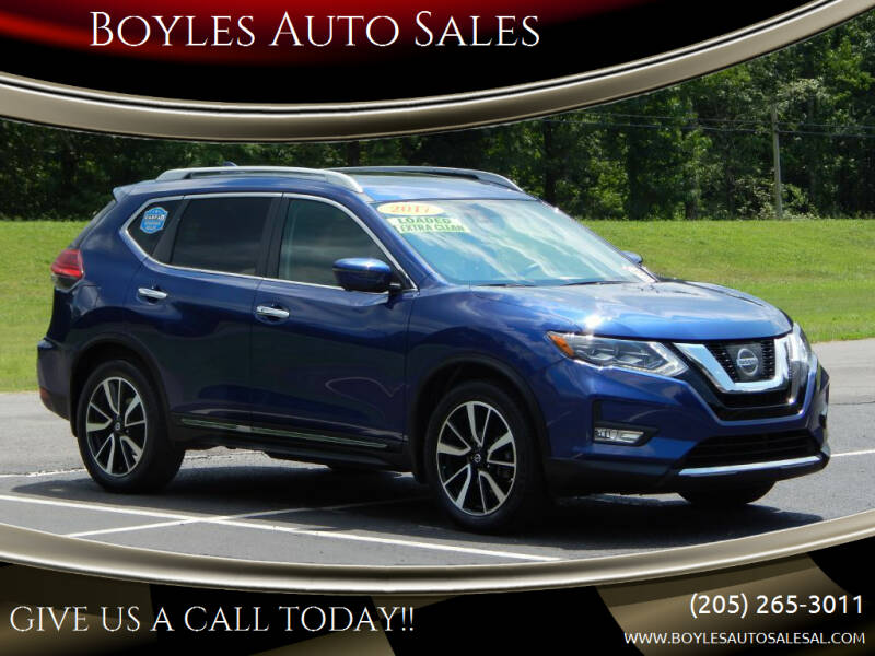 2017 Nissan Rogue for sale at Boyles Auto Sales in Jasper AL
