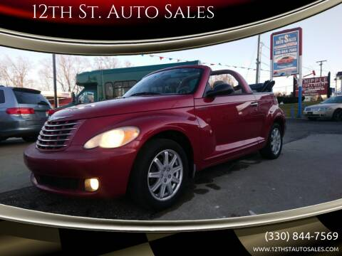 2006 Chrysler PT Cruiser for sale at 12th St. Auto Sales in Canton OH