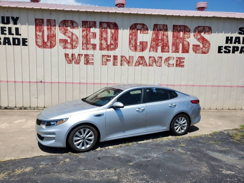 2016 Kia Optima for sale at Yates Brothers Motor Company in Fort Worth TX