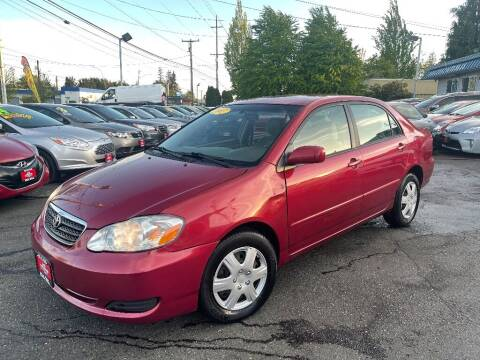 2007 Toyota Corolla for sale at Real Deal Cars in Everett WA