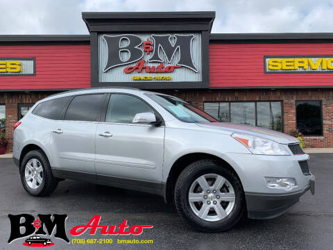 2012 Chevrolet Traverse for sale at B & M Auto Sales Inc. in Oak Forest IL