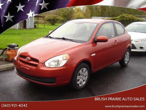 2010 Hyundai Accent for sale at Brush Prairie Auto Sales in Battle Ground WA