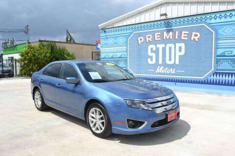 2010 Ford Fusion for sale at PREMIER STOP MOTORS LLC in San Antonio TX