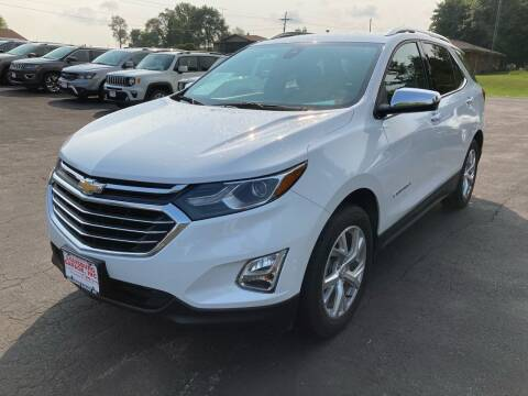 2018 Chevrolet Equinox for sale at Louisburg Garage, Inc. in Cuba City WI