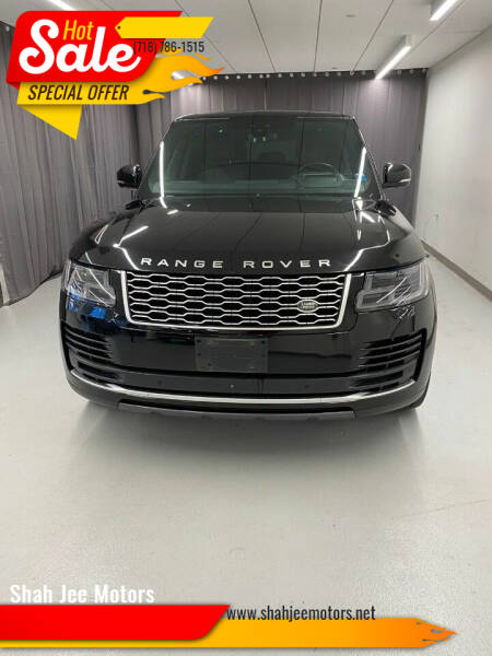 2018 Land Rover Range Rover for sale at Shah Jee Motors in Woodside NY