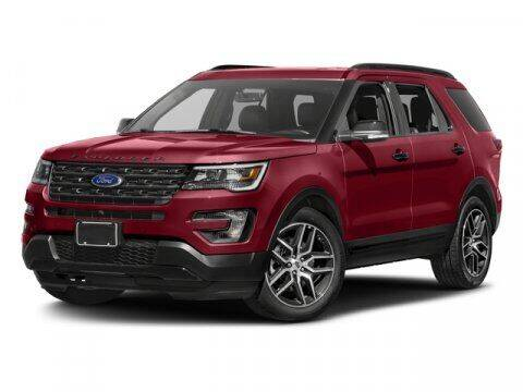 2017 Ford Explorer for sale at Hawk Ford of St. Charles in St Charles IL