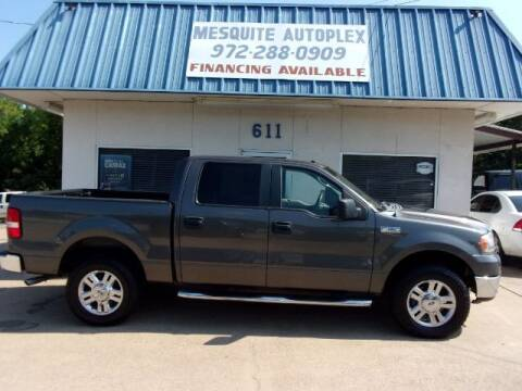 2007 Ford F-150 for sale at MESQUITE AUTOPLEX in Mesquite TX