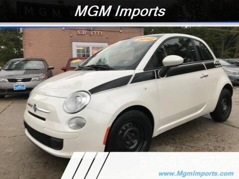 2012 FIAT 500 for sale at MGM Imports in Cincannati OH