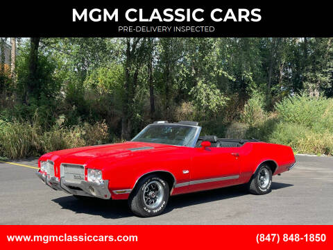 1971 Oldsmobile Cutlass for sale at MGM CLASSIC CARS-New Arrivals in Addison IL