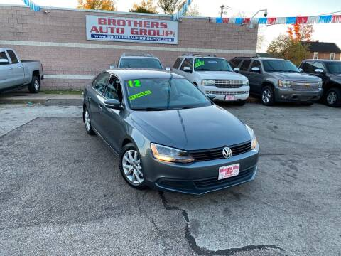 2012 Volkswagen Jetta for sale at Brothers Auto Group in Youngstown OH