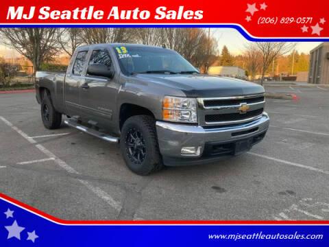 2013 Chevrolet Silverado 1500 for sale at MJ Seattle Auto Sales in Kent WA