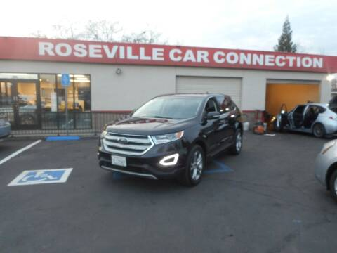 2015 Ford Edge for sale at ROSEVILLE CAR CONNECTION in Roseville CA