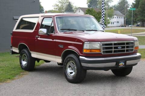 1992 Ford Bronco for sale at Great Lakes Classic Cars in Hilton NY