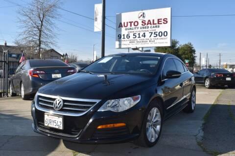 2012 Volkswagen CC for sale at A1 Auto Sales in Sacramento CA