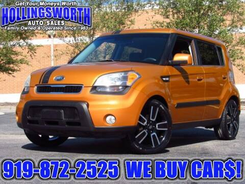 2010 Kia Soul for sale at Hollingsworth Auto Sales in Raleigh NC