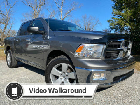 2012 RAM Ram Pickup 1500 for sale at Byron Thomas Auto Sales, Inc. in Scotland Neck NC