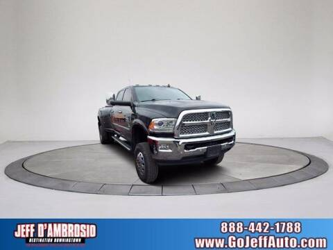 2018 RAM Ram Pickup 3500 for sale at Jeff D'Ambrosio Auto Group in Downingtown PA