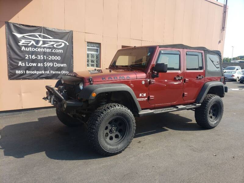 2008 Jeep Wrangler Unlimited for sale at ENZO AUTO in Parma OH