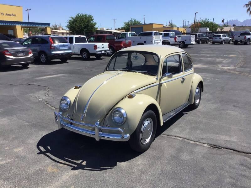 1969 Volkswagen Beetle for sale at CASA DE AUTOS, INC in Las Cruces NM