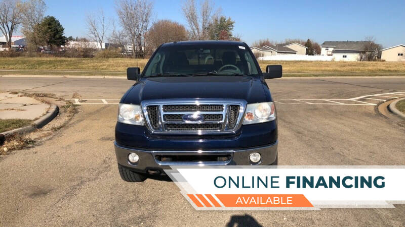 2008 Ford F-150 for sale at P & T SALES in Clear Lake IA