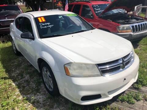 2011 Dodge Avenger for sale at Castagna Auto Sales LLC in Saint Augustine FL