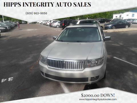 2006 Lincoln Zephyr for sale at Hipps Integrity Auto Sales in Delran NJ