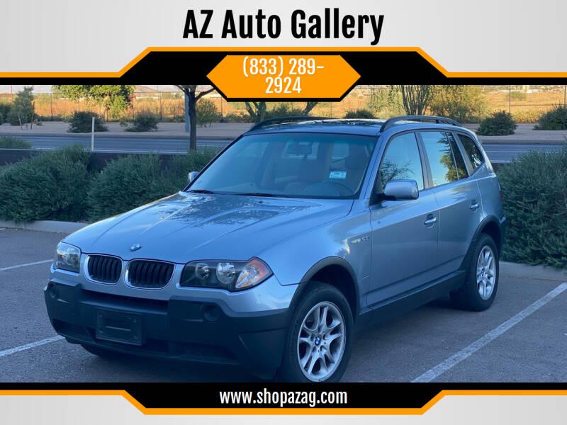 2004 BMW X3 for sale at AZ Auto Gallery in Mesa AZ