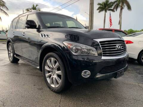 2013 Infiniti QX56 for sale at GTR Motors in Davie FL