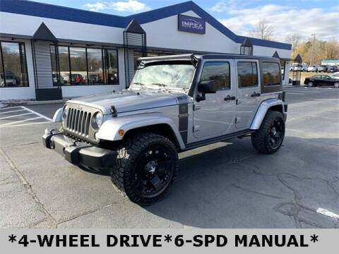 2017 Jeep Wrangler Unlimited for sale at Impex Auto Sales in Greensboro NC