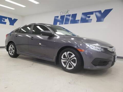 2016 Honda Civic for sale at HILEY MAZDA VOLKSWAGEN of ARLINGTON in Arlington TX
