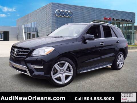 2015 Mercedes-Benz M-Class for sale at Metairie Preowned Superstore in Metairie LA