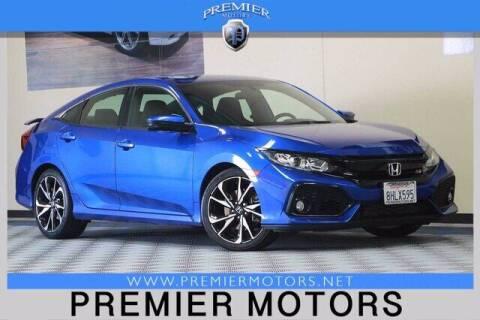 2019 Honda Civic for sale at Premier Motors in Hayward CA