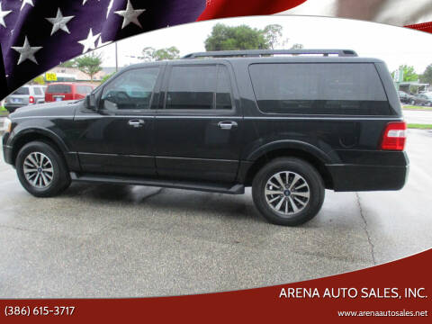 2015 Ford Expedition EL for sale at ARENA AUTO SALES,  INC. in Holly Hill FL
