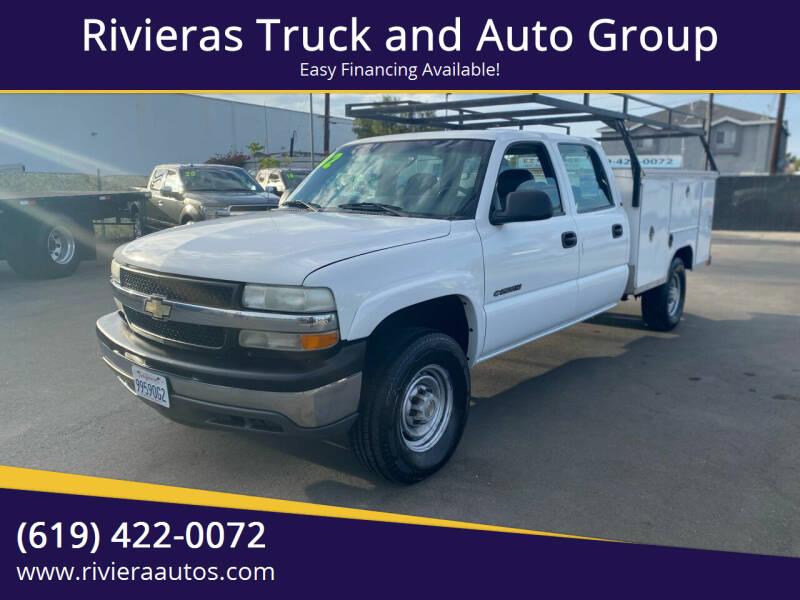 2002 Chevrolet Silverado 2500HD for sale at Rivieras Truck and Auto Group in Chula Vista CA