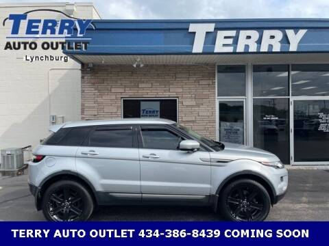 2013 Land Rover Range Rover Evoque for sale at Terry Auto Outlet in Lynchburg VA