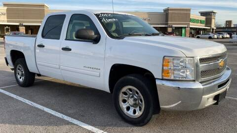 2012 Chevrolet Silverado 1500 for sale at T.S. IMPORTS INC in Houston TX