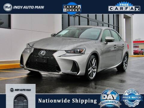 2018 Lexus IS 350 for sale at INDY AUTO MAN in Indianapolis IN
