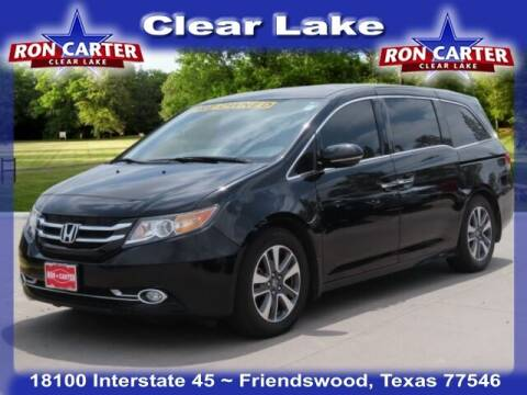 2016 Honda Odyssey for sale at Ron Carter  Clear Lake Used Cars in Houston TX