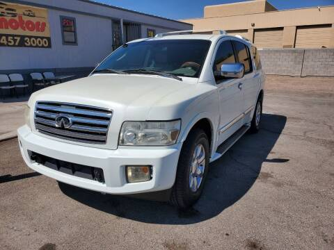 2005 Infiniti QX56 for sale at TJ Motors in Las Vegas NV