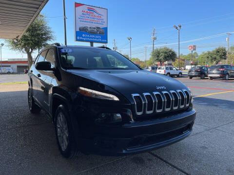2017 Jeep Cherokee for sale at Magic Auto Sales in Dallas TX