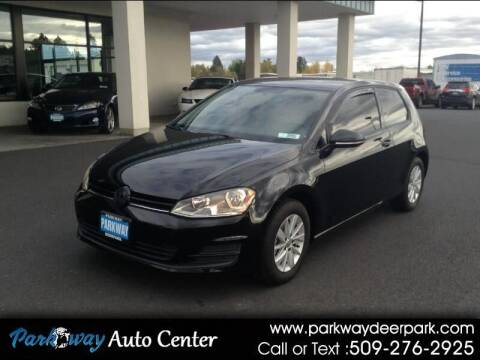 2015 Volkswagen Golf for sale at PARKWAY AUTO CENTER AND RV in Deer Park WA