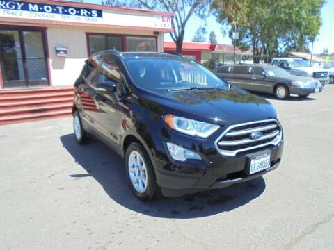2018 Ford EcoSport for sale at Synergy Motors - Nader's Pre-owned in Santa Rosa CA