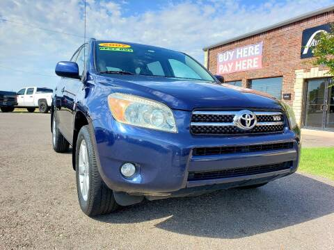 2007 Toyota RAV4 for sale at AUTO BARGAIN, INC in Oklahoma City OK