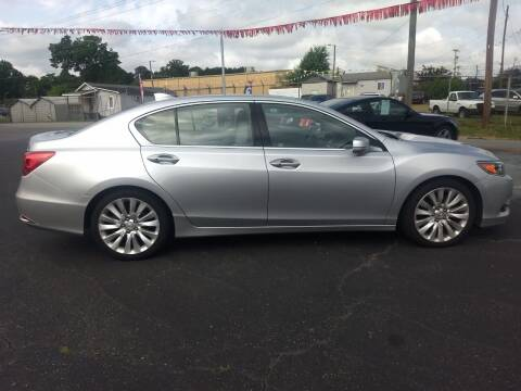2014 Acura RLX for sale at Kenny's Auto Sales Inc. in Lowell NC