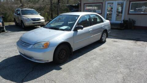 2003 Honda Civic for sale at E-Motorworks in Roswell GA