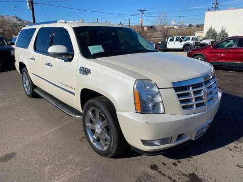 2008 Cadillac Escalade ESV for sale at BERKENKOTTER MOTORS in Brighton CO